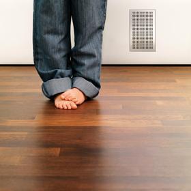 Fußbodenheizung